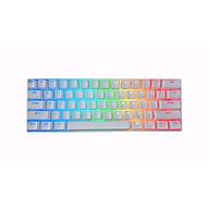 Bàn Phím Cơ Không Dây RK61 RGB - Chính Hãng Royal Kludge. 61 phím, Led RGB rực rỡ, pin bền, thiết kế đẹp, nhỏ gọn, dễ sử dụng, dễ dàng mang theo. Đủ màu sắc và Switch. thumbnail