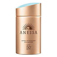 Kem Chống Nắng Anessa Perfect UV Sunscreen Skincare Milk Spf 50+ Pa++++ (60ml) thumbnail