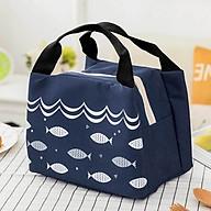 Túi giữ nhiệt đựng đồ kiểu nhật có kéo khóa thumbnail