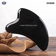 Dụng cụ Mát xa Cạo gió sừng loại dày đẹp (MH808) làm mịn da mặt và toàn thân thumbnail