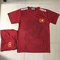 (THUN THÁI) bộ quần áo bóng đá tuyển Việt Nam in hình liên minh thumbnail