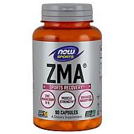 ZMA Bù Đắp Khoáng Chất cho người luyện tập thể thao, Sự kết hợp của kẽm (Zinc), magiê (magnesium) và vitamin B-6 được thiết kế để tối đa hóa sự hấp thụ và thúc đẩy quá trình phục hồi sau khi tập thể dục (90 Viên) thumbnail