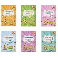 Combo 6 cuốn sách tô màu 4D Ekidar thumbnail