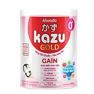 [Tinh tuý dưỡng chất Nhật Bản] Sữa bột KAZU GAIN GOLD 810g 0+ (dưới 12 tháng) thumbnail