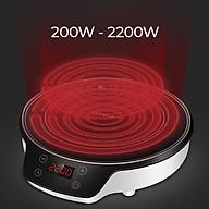 Bếp hồng ngoại Konka KES-ES1 màu đen sang trọng phù hợp với mọi gia đình 8 mức công suất để nấu nhiều món khác nhau - Hàng nhập khẩu thumbnail