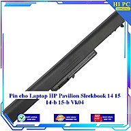 Pin cho Laptop HP Pavilion Sleekbook 14 15 14-b 15-b Vk04 - Hàng Nhập Khẩu thumbnail