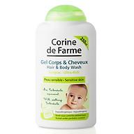 Gel Tắm Gội Cho Bé Corine de Farme Hair & Body Wash 250ml thumbnail