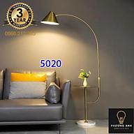 Đèn cây cần câu thân mạ vàng chân đá Đèn đứng phong cách Bắc Âu Mã 5020 thumbnail