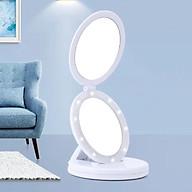 Gương Trang Điểm 2 Mặt Có Đèn LED Phóng To thumbnail