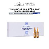 Tinh chất bổ sung dưỡng chất và vitamin cho da dầu Tegoder Perfect skin II mineral & vitamin concentrate 22x2ml mã 4519 thumbnail