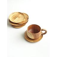 (bộ 3) Lót ly, cốc tròn bằng tre bền đẹp thumbnail