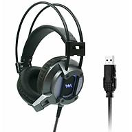Tai Nghe Chụp Tai Chuyên Game Wangming 9600 - Âm Thanh 7.1 Led Đẹp - Jack Cắm USB- Hàng chính hãng thumbnail