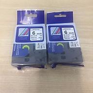Combo 2 cuộn nhãn in TZ2-211 tiêu chuẩn - Chữ đen trên nền trắng 6mm - Hàng nhập khẩu thumbnail