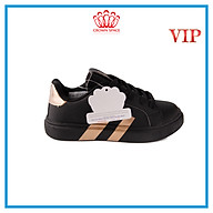 Giày Sneaker Bé Trai Bé Gái Cổ Thấp CrownUK Active Trẻ em Cao Cấp CRUK215 Nhẹ Êm Size 28-36 2-14 Tuổi Màu Trắng Đen Hồng thumbnail