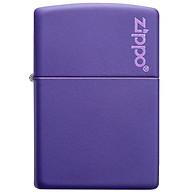 Bật Lửa Zippo 237Zl Zippo Purple Matte Zippo Logo thumbnail