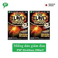 Combo 2 hộp miếng dán giảm đau Pip Elekiban 200mT cải thiện tuần hoàn máu hàng chính hãng thumbnail