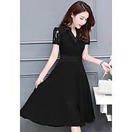 Đầm Maxi Voan Phối Ren Duyên Dáng thumbnail