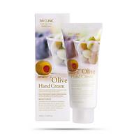 Kem Dưỡng Da Tay Chiết Xuất Ô-Liu 3W Clinic Olive Hand Cream 100ml thumbnail