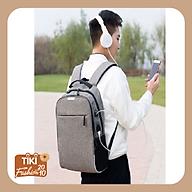 Balo thời trang nam nữ đựng laptop, có phản quang và mã khóa chống trộm thumbnail