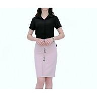 Chân váy nữ thời trang Zenkik ôm đính 8 cúc cách điệu CV55 thumbnail