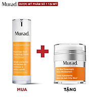 Serum giảm nám Murad Rapid Age Spot Correcting 30ml Tặng Kem thải độc Murad City Skin Overnight Detox Moisturizer 50ml thumbnail