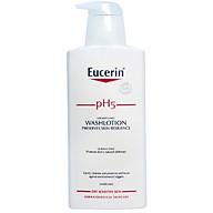 Sữa Tắm cho Da Nhạy Cảm Eucerin pH5 for Body & Face WashLotion (400 ml) (Không Mùi) thumbnail
