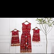 Váy maxi mẹ và bé thiết kế cực hot thumbnail