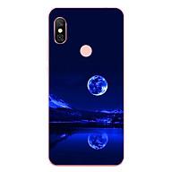 Ốp Lưng Dẻo Cho Điện Thoại Xiaomi Redmi Note 6 Pro - Moon 02 thumbnail