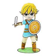 Mô hình giấy cắt dán thủ công Anime Game Chibi Link - Breath of the Wild thumbnail