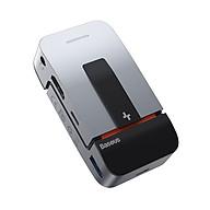 Bộ chuyển đổi Hub đa chức năng BASEUS Armor Age Type-C 9 cổng (USB3.0 3 + HDMI 1 + RJ45 1 + Loại-C 3 + 3.5 Âm thanh) - Hàng chính hãng thumbnail