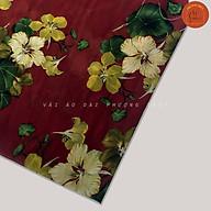 Vải Voan Chiffon hoa đều mềm mại, tà rũ vải may đa dạng thumbnail