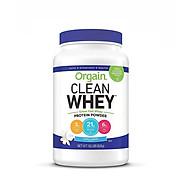 Bột sữa Whey Protein Orgain Clean Whey 828g hương Vanilla thumbnail