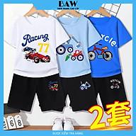 Set Đồ Bé Trai phong cách hàn quốc, chất thun cotton mát mịn thấm hút mồ hôi, thời trang trẻ em thương hiệu BAW mã 140-141-142 thumbnail
