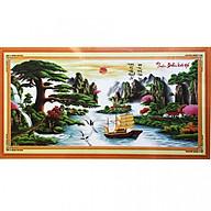 Tranh thêu Thuận Buồm Xuôi gió (150 x 67 cm) thumbnail
