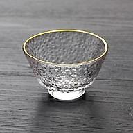 Chén uống trà thủy tinh 014 thumbnail
