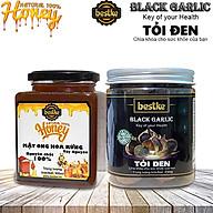 Tỏi đen bestke 250g và mật ong 100% nguyên chất tự nhiên 500ml thumbnail