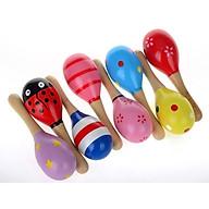 Đồ chơi xúc xắc gỗ nhiều màu sắc thumbnail