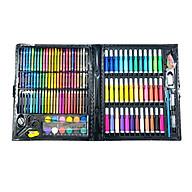 Hộp bút màu 150 chi tiết đủ tất cả các dạng màu cho bé thumbnail