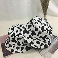 Mũ Bucket bò sữa 2 mặt thời trang - Vằn thumbnail