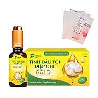 Tinh Dầu tỏi Diệp Chi Gold + Kháng sinh tự nhiên , hổ trợ ho, cảm, sổ mủi tặng sữa rửa mặt MAROSA LACO thumbnail