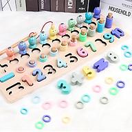 Đồ chơi trí tuệ cho bé, Bảng lắp ghép số hình trí tuệ cho trẻ thumbnail