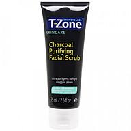 Tẩy tế bào chết tinh chất than hoạt tính T-Zone 75ml, làm sạch sâu, cho da dầu mụn, hàng chính hãng thumbnail