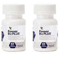 Combo 2 hũ Forever B12 Plus ( 188) kết hợp vitamin B12 và Acid Folic-60 viên hũ thumbnail