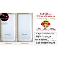 Pin Sạc Dự Phòng Winlink 20000mah - hàng chính hãng thumbnail