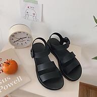Sandal nữ quai ngang phiên bản Hàn Quốc thời trang đi học đi chơi thumbnail