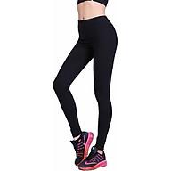 Combo 2 quần thô nữ dáng ôm cạp chun co giãn 4 chiều Màu đen đủ size thumbnail