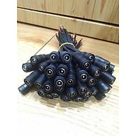 Jack nguồn DC cái có dây (100 sợi) loại màu đen cho đèn led, camera thumbnail