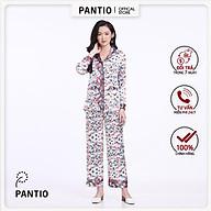 BỘ ĐỒ NGỦ hoa cách điệu BMN5015- PANTIO thumbnail