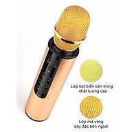 Micro Karaoke Bluetooth Micro không dây Kèm Loa Chất lượng cao cầm tay, Hát Trực Tiếp Không Cần Loa - Hàng Chính Hãng PKCB thumbnail