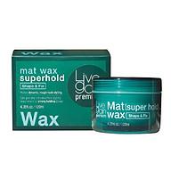Sáp Cứng Livegain Premium Mat Wax 120g Hàn Quốc thumbnail